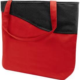 Einkaufstasche Big Volume, rot/schwarz