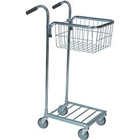 Einkaufswagen mit 1 Korb