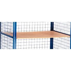 Einlegeboden für Gitter-Regalwagen, 965 x 695 mm