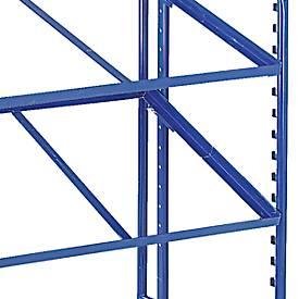 Einlegeboden mit Stahlrahmen für Eurokastenwagen, 820 x 620 mm
