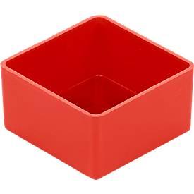 Einsatzkasten EK 302, rot, PS, 40 Stück