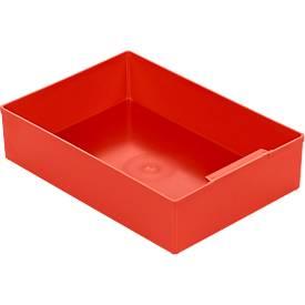 Einsatzkasten EK 504, PS, 10 Stück, rot
