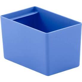 Einsatzkasten EK 6161, blau, 16 Stück