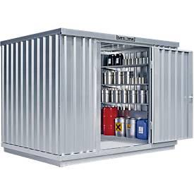 Einzel-Container SAFE TANK 1000, 3005 x 2170 mm
