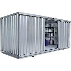 Einzel-Container SAFE TANK 1700, 5080 x 2170 mm