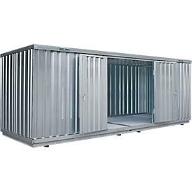Einzel-Container SAFE TANK 1900, 6080 x 2170 mm