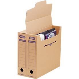 ELBA Archiv-Schachtel tric system, 3 Größen, Hoch- und Querformate, aus Wellpappe