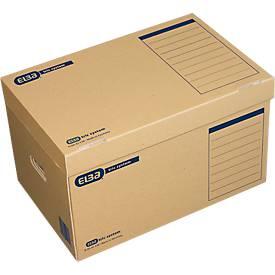ELBA Archivcontainer tric system, Deckel und Tragegriffe, für Transport und Archiv
