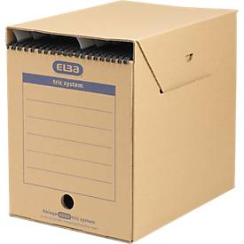 ELBA Hängemappen-Archiv tric system, 2 Größen, für Systemregistraturen mit Reiter