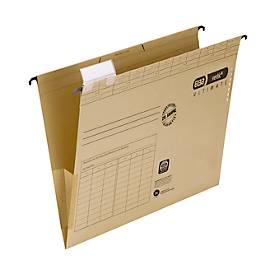 ELBA vertic® Hängetaschen ULTIMATE, für Formate bis Din A4, Karton, 25 Stück