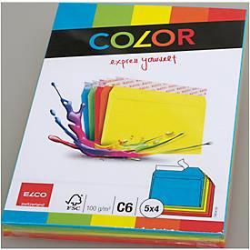 Elco Color enveloppes 5 couleurs
