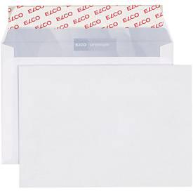 ELCO enveloppen met kleefstrook C6, 114 x 162 mm, 80 g/m², zonder venster, pak van 200 stuks