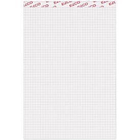 ELCO Notizblock, DIN A4 oder DIN A5 kariert, 100 Blatt, weiß