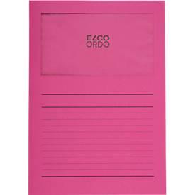 ELCO ORDO Sammelmappe Classico, für DIN A4, Papier, 100 Stück, fuchsia