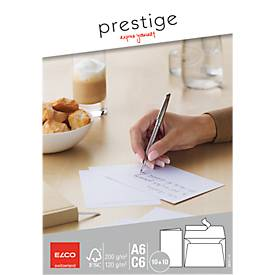 Elco Prestige Kuverts mit Doppelkarte DIN A6/C6