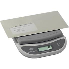 Elektronische Brief- und Päckchenwaage WEDO 2000