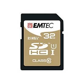 EMTEC Gold+ - Flash-Speicherkarte - 32 GB - SDHC