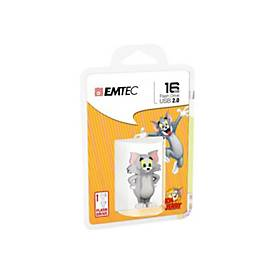 EMTEC Novelty 3D HB102 Tom - USB-Flash-Laufwerk - 16 GB