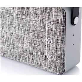 Enceintes Bluetooth, revêtement en tissu, Bluetooth 4.1, 2 enceintes x 3 W