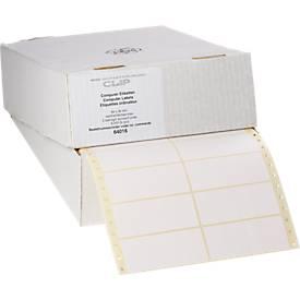 Endlos-Etiketten, 1-bahnig, 88,9 x 35,7 mm, 4000 Stück
