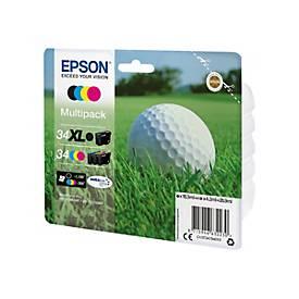 Epson 34 Multipack - 4er-Pack - Schwarz, Gelb, Cyan, Magenta - Original - Tintenpatrone