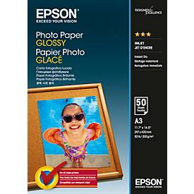EPSON Fotopapier Photo Paper Glossy DIN A3