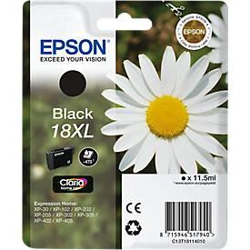Epson Tintenpatrone C13T18114XL schwarz