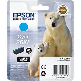 EPSON Tintenpatrone T2632XL cyan