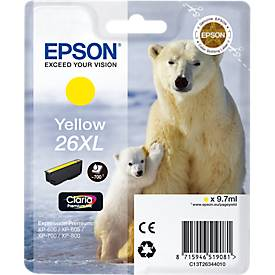 EPSON Tintenpatrone T2634XL gelb