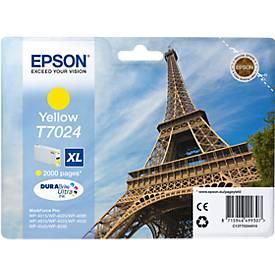 EPSON Tintenpatrone T70244010 XL gelb