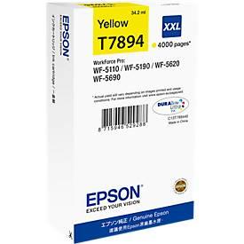 Epson Tintenpatrone T789440XXL gelb