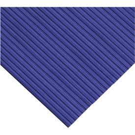 Ergonomische loper, 1000 mm breed, blauw