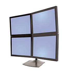 Ergotron DS100 Standfuß für 4 Monitore