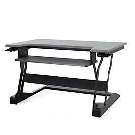Ergotron Sitz-Steh-Schreibtisch WorkFit-T, höheneinstellbar, Maße B 889 x T 584 mm