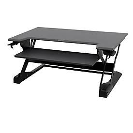 Ergotron Sitz-Steh-Schreibtisch WorkFit-TL, höheneinstellbar, Maße B 950 x T 640 mm