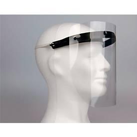 Ersatz-Visierfolie für größenverstellbare Gesichtsschutzmaske, 210 x 297 mm, Polyester, glasklar, 5 Stück