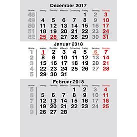 Ersatzkalendarium, f. Tischkalender Noble Steel, Mini Elfe u. Mini, int. Kalendarium