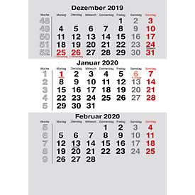 Ersatzkalendarium, für Tischkalender Noble Steel, Mini Elfe und Mini, dt., f. 2 Jahre