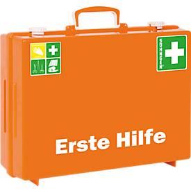 Erste-Hilfe-Koffer MT-CD, DIN 13169/EN 1789, Inneneinteilung verstellbar, zerlegbar, inkl. Wandhalterung