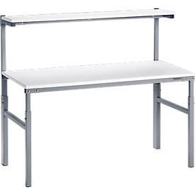 ESD-Arbeitstisch mit Etagenbord TRESTON TPH
