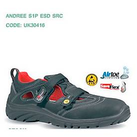 ESD-Sicherheitssandale U-Power Andree, S1P, Alukappe