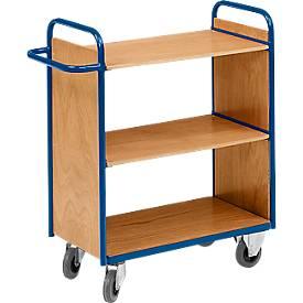 Etagenwagen, m.2 Wänden, 3 Etagen, 37 kg
