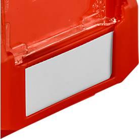 Etikett für Sichtlagerkasten LF 210, Kunststoff