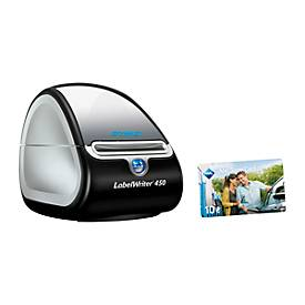 Etikettendrucker DYMO® LW 450, 60 mm Etikettenbreite, USB, Thermodirektdruck, + Tankgutschein 10,-