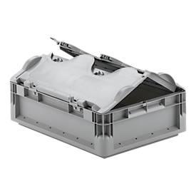 Euro Box Leichtbehälter ELB 4120, aus PP, Inhalt 10,9 L, mit o. ohne Deckel