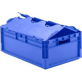 Euro Box Leichtbehälter ELB 6220, aus PP, Inhalt 43,7 L, mit o. ohne Deckel