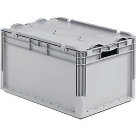 Euro Box Leichtbehälter ELB 6320, aus PP, Inhalt 64 L, mit o. ohne Deckel