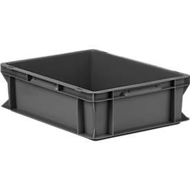 Euro Box Serie EF 4120, recy. Kunststoff, Inhalt 11,1 L, Unterfassgriff