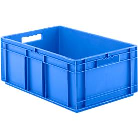 Euro Box Serie EF 6240, aus PE, Inhalt 47,5 L, geschlossene Wände