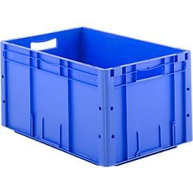 Euro Box Serie LTF 6320, aus PP, Inhalt 62,7 L, Durchfassgriff